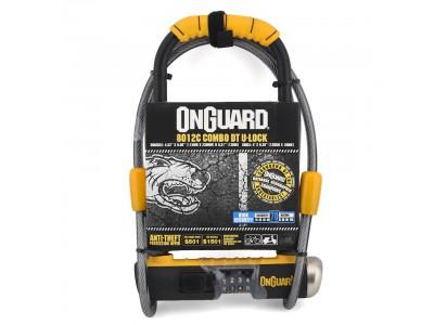 Замок OnGuard Bulldog DT U-Lock 8012c кодовый 115*230*13мм с тросом 1200*10мм