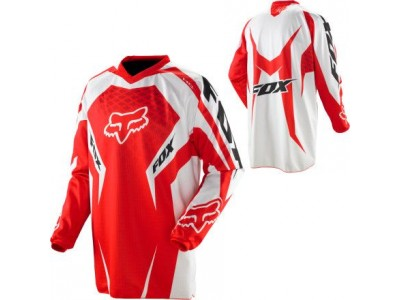 Джерси Fox HC Race Bright Red 2012