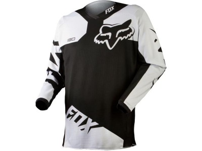 Джерси Fox 180 Race Jersey Black (10713-001)