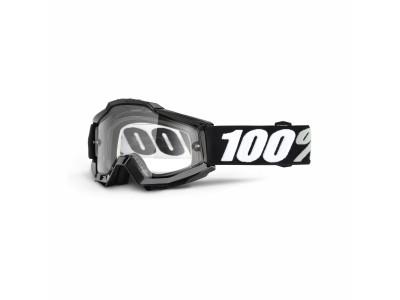 Маска 100% ACCURI Enduro Tornado Clear Dual Lens