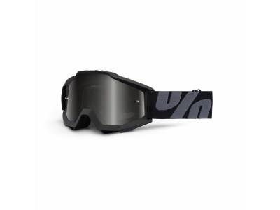 Маска 100% ACCURI Superstition UTV/ATV SAND Dark Smoke Lens