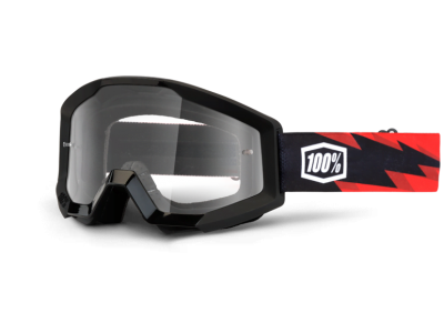 Маска 100% Strata Moto Slash Clear Lens (50400-076-02)