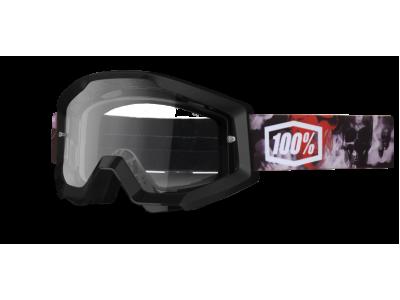 Маска 100% Strata Skelter Clear Lens (50400-034-02)