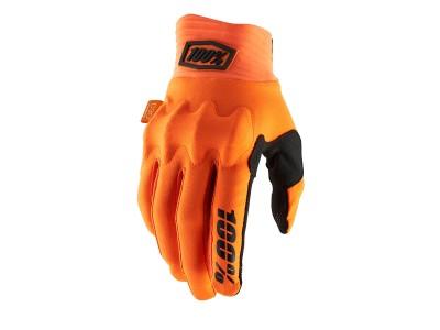 Перчатки 100% Cognito D3O (Fluo Orange/Black, 2021)