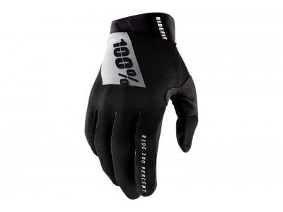 Перчатки 100% Ridefit (Black, 2021)