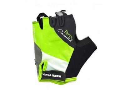Перчатки велосипедные VINCA TERRA black-green