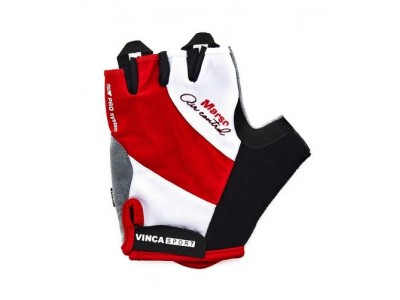 Перчатки велосипедные VINCA MARSO white-red