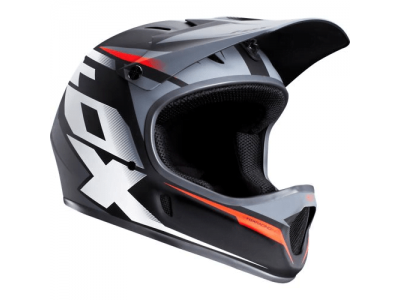 Шлем Fox Rampage Helmet Black - Red (2014)