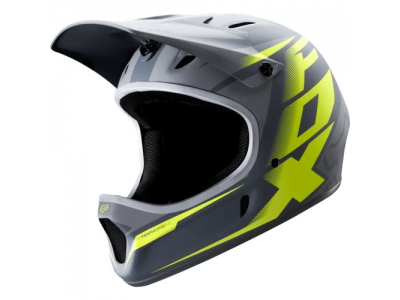 Шлем Fox Rampage Helmet Grey - Yellow (2014)