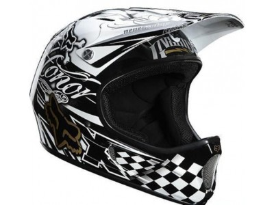 Шлем Fox Rampage Full Face DH Black/White