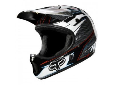 Шлем Fox Rampage Full Face DH Grey/Red