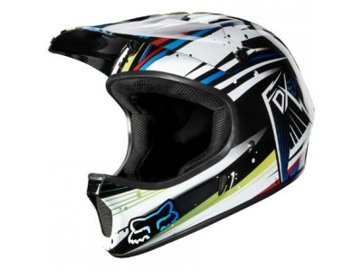 Шлем Fox Rampage Full Face DH White/Blue