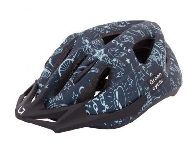 Шлем детский Green Cycle Fast Five Dark/Light Blue