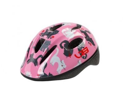 Шлем детский Green Cycle Kitty Pink
