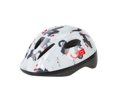 Шлем детский Green Cycle Kitty White
