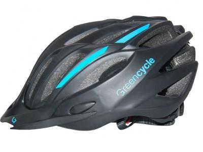 Велошлем Green Cycle Rock Black-Blue