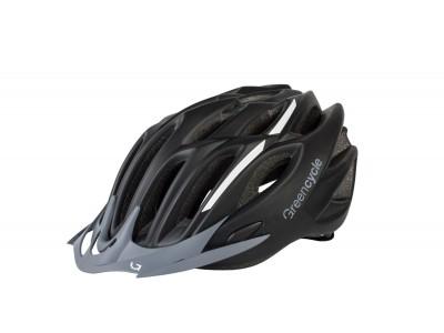 Велошлем Green Cycle Rock Black-White