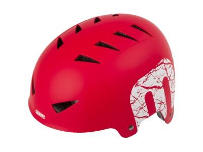 Велошлем MIGHTY X-Style BMX helmet Matt Red