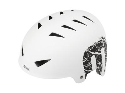 Шлем MIGHTY X-Style BMX helmet Matt White