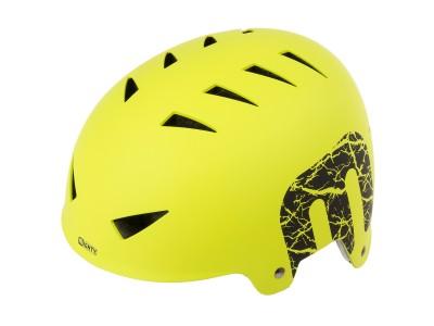 Шлем MIGHTY X-Style BMX helmet Neon Yellow