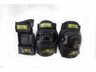 Набор детской защиты Vinca Sport black