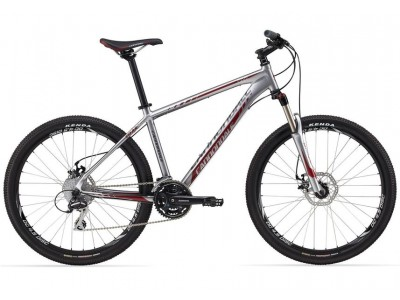 Велосипед Cannondale Trail 5 Silver Red Hydro Disk-2012