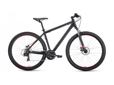 "Велосипед FORWARD Apache 2.0 27.5"" Black (2020)"