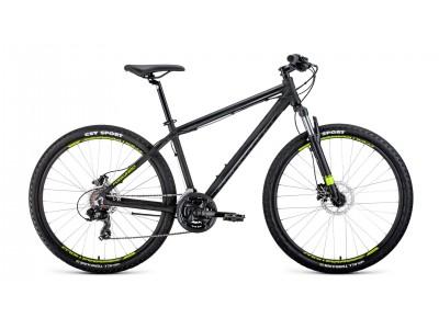 "Велосипед FORWARD Apache 3.0 27.5"" Black (2020)"