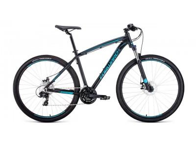 "Велосипед FORWARD Next 2.0 29"" Black-Blue (2020)"