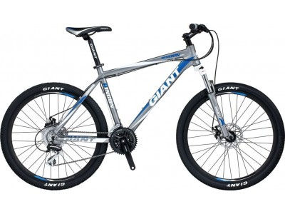 Велосипед Giant Rincon Disc Silver-White (2014)