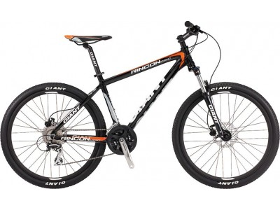Велосипед Giant Rincon DISC Black Orange (2016)