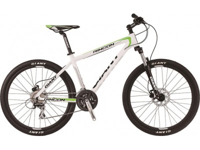 Велосипед Giant Rincon DISC White Green (2016)
