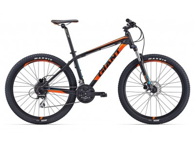 Велосипед GIANT TALON 3 BLACK ORANGE (2017)