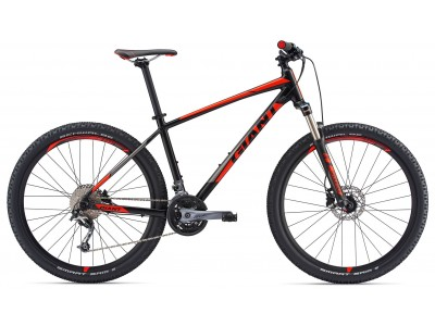 Велосипед GIANT TALON 2 GE BLACK RED(2018)
