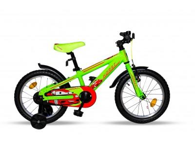 "Велосипед 16"" HORST Blitz Lime-Red"