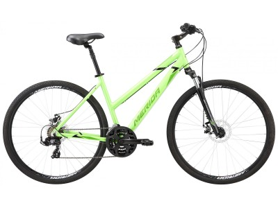 Велосипед MERIDA CROSSWAY 10-MD Lady (2020) Silk Lite Green