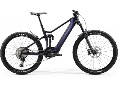 """Велосипед 29""""/27.5"""" Merida eOne-Sixty 8000 GlossyPurpleRainbow/MattBlack (2020)"""