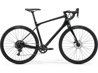 Велосипед Merida Silex 600 Black (2021)