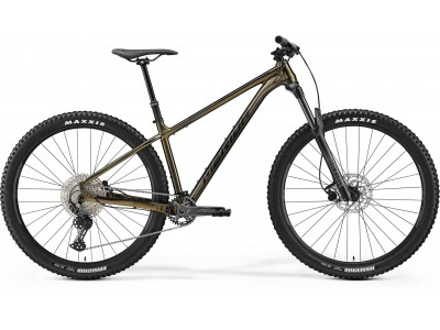 Предзаказ   Merida Big.Trail 500 (2022, Sparkling gold/Black)