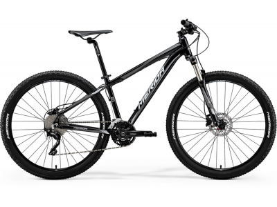 Велосипед MERIDA BIG SEVEN 80-D BLACK SILVER (2018)