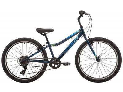 "Велосипед 24"" PRIDE BRAVE 4.1 blue (2019)"