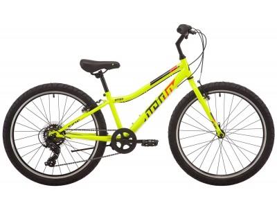 """Велосипед 24"""" PRIDE BRAVE 4.1 yellow (2019)"""