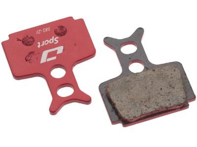 Колодки дисковые Jagwire Sport Semi-Metallic DCA080
