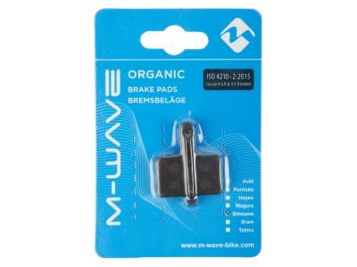 Колодки дисковые M-WAVE Organic STP1