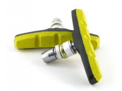 Колодки V-Brake VINCA SPORT VB 970 black-yellow 70 мм