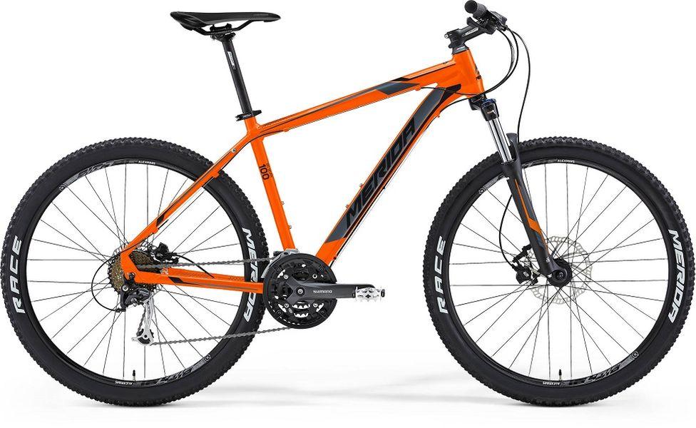 Мерида Bigseven 100 Оранжевый